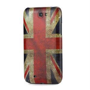 Billede af Samsung Galaxy Note 2 Design Plastik cover fra inCover - Union Jack