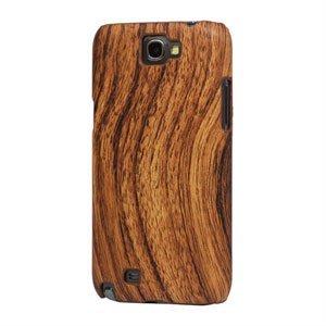 Billede af Samsung Galaxy Note 2 Design Plastik cover fra inCover - woodie