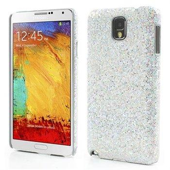 Billede af Samsung Galaxy Note 3 inCover Design Plastik Cover - Sølv Bling