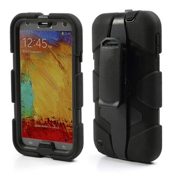 Image of   Samsung Galaxy Note 3 Defender Cover - Sort