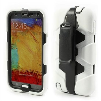 Image of   Samsung Galaxy Note 3 Defender Cover - Hvid