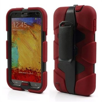 Image of   Samsung Galaxy Note 3 Defender Cover - Rød