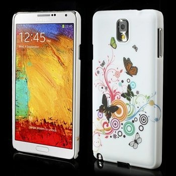 Billede af Samsung Galaxy Note 3 inCover Design Plastik Cover - Vivid Butterfly
