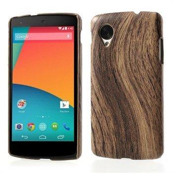 Billede af Nexus 5 inCover Design Plastik Cover - Woodie