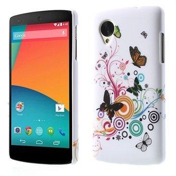 Billede af Nexus 5 inCover Design Plastik Cover - Vivid Butterfly