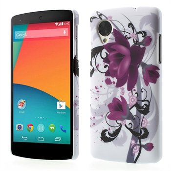Image of Nexus 5 inCover Design Plastik Cover - Lotus Flower