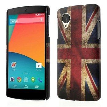 Billede af Nexus 5 inCover Design Plastik Cover - Union Jack