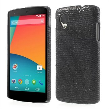 Image of Nexus 5 inCover Design Plastik Cover - Sort Glitter