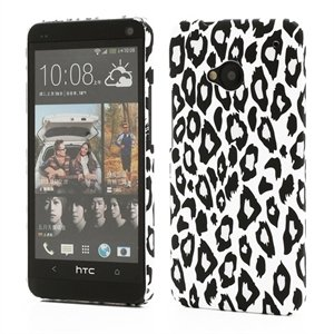 Image of HTC One inCover Design Plastik Cover - Leopard