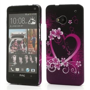 Image of HTC One inCover Design Plastik Cover - Heart