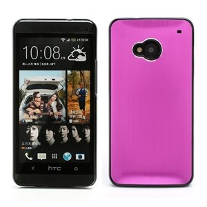 Image of HTC One inCover Design Alu/Plastik Cover - Rosa