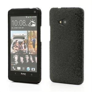 Image of HTC One inCover Design Plastik Cover - Sort Glitter