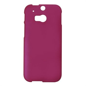 HTC One M8 inCover Plastik Cover - Rosa