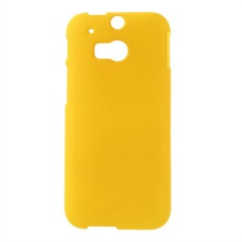 Billede af HTC One M8 inCover Plastik Cover - Gul