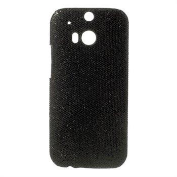 Billede af HTC One M8 inCover Plastik Cover - Sort Glitter