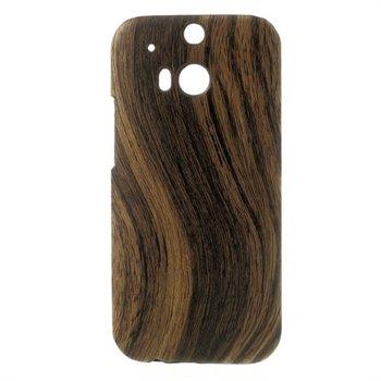 Billede af HTC One M8 inCover Design Plastik Cover - Woodie