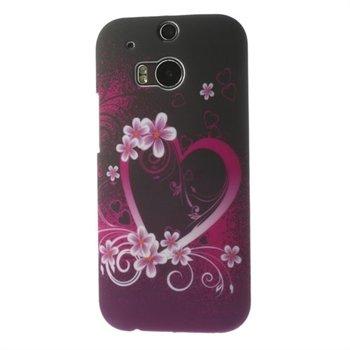 Billede af HTC One M8 inCover Design Plastik Cover - Heart