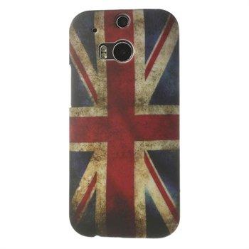 Billede af HTC One M8 inCover Design Plastik Cover - Union Jack