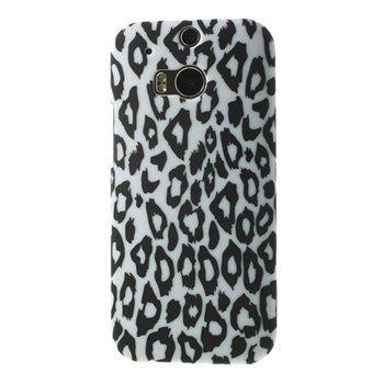 Billede af HTC One M8 inCover Design Plastik Cover - Leopard