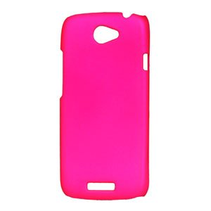 Image of HTC One S Plastik cover fra inCover - rosa