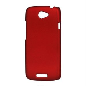Image of HTC One S Plastik cover fra inCover - rød