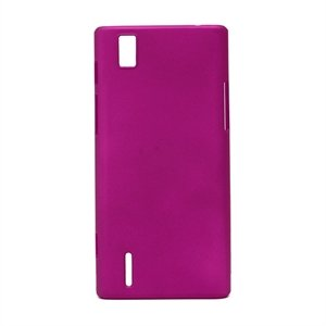 Huawei Ascend P2 Plastik cover fra inCover - rosa