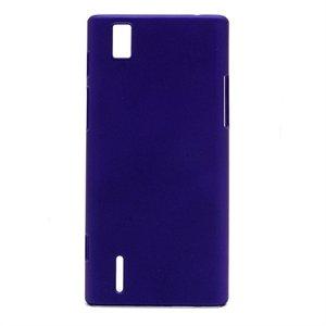 Huawei Ascend P2 Plastik cover fra inCover - mørk blå