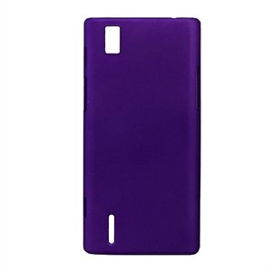 Huawei Ascend P2 Plastik cover fra inCover - lilla