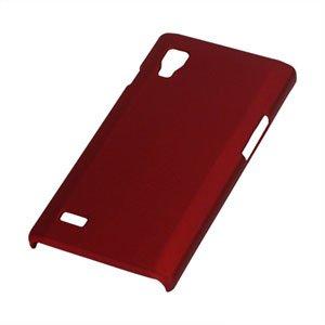 Image of LG Optimus L9 Plastik cover fra inCover - rød