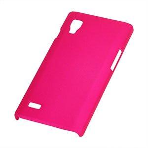 Image of LG Optimus L9 Plastik cover fra inCover - rosa