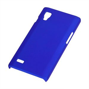Image of LG Optimus L9 Plastik cover fra inCover - mørkeblå