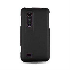Image of LG Optimus 3D Plastik cover fra inCover - sort