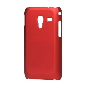 Image of Samsung Galaxy Ace Plus Plastik cover fra inCover - rød