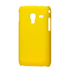 Image of Samsung Galaxy Ace Plus Plastik cover fra inCover - gul