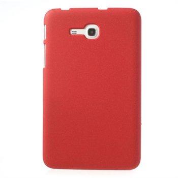 Billede af Samsung Galaxy Tab 3 Lite inCover Quicksand Plastik Cover - Rød