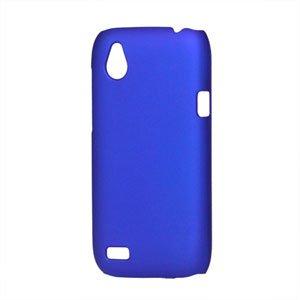 Image of HTC Desire X Plastik cover fra inCover - blå