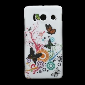 Image of Huawei Ascend Y300 inCover Design Plastik Cover - Vivid Butterfly