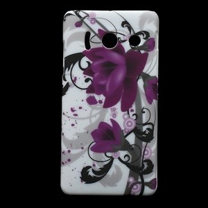 Image of Huawei Ascend Y300 inCover Design Plastik Cover - Lotus Flower