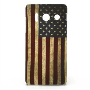 Image of Huawei Ascend Y300 inCover Design Plastik Cover - Stars And Stripes