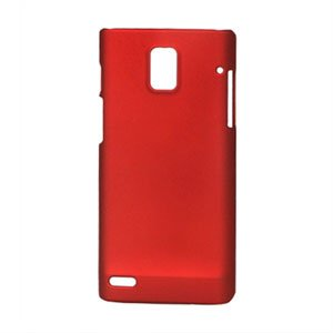 Image of Huawei Ascend P1 Plastik cover fra inCover - rød