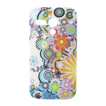 Image of Motorola Moto G inCover Design Plastik Cover - Flower Power