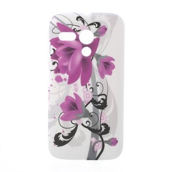 Image of Motorola Moto G inCover Design Plastik Cover - Lotus Flower