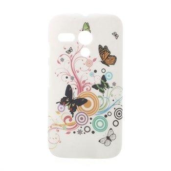 Billede af Motorola Moto G inCover Design Plastik Cover - Vivid Butterfly