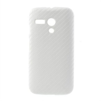 Billede af Motorola Moto G inCover Design Plastik Cover - Hvid Carbon
