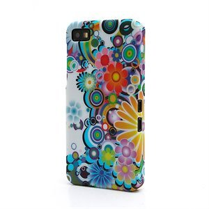 Image of   BlackBerry Z10 inCover Design Plastik Cover - Flower Power