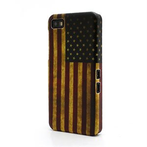 Image of BlackBerry Z10 inCover Design Plastik Cover - Stars And Stripes