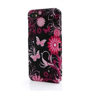 Image of BlackBerry Z10 inCover Design Plastik Cover - Butterfly Flower
