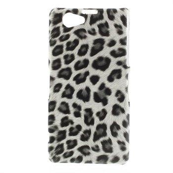 Billede af Sony Xperia Z1 Compact inCover Design Plastik Cover - White Leopard