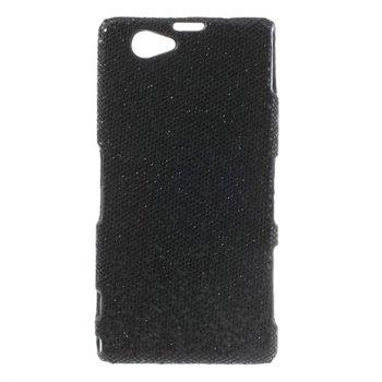 Billede af Sony Xperia Z1 Compact inCover Design Plastik Cover - Sort Glitter