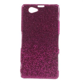 Billede af Sony Xperia Z1 Compact inCover Design Plastik Cover - Rosa Glitter